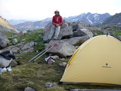 Rock Climbing Photo: Somewhere in the Holy Cross Wilderness.