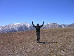 Rock Climbing Photo: Summit of Pennslyvania Mtn.