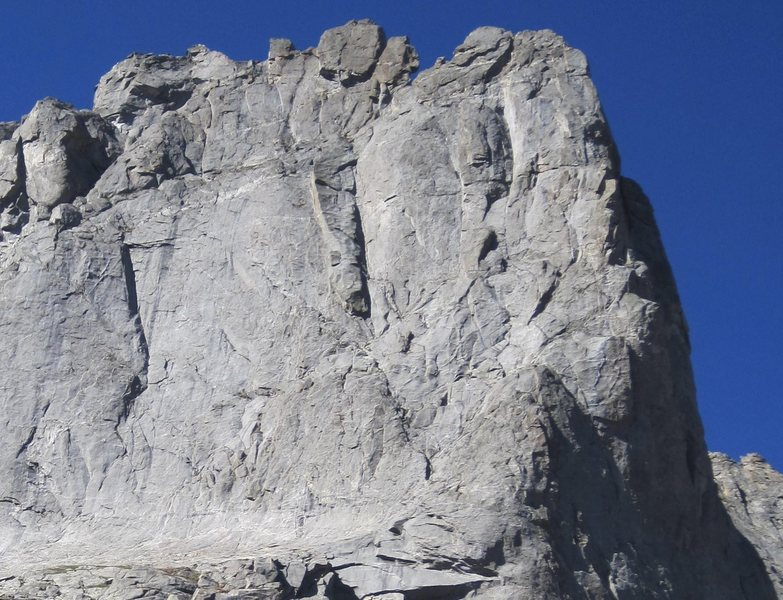 Rock Climbing Photo: warrior I