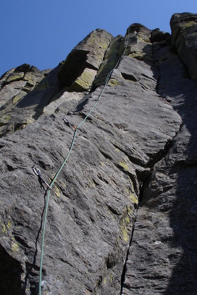 Rock Climbing Photo: The Arete-Acal