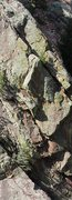 Rock Climbing Photo: You can see the crux dihedral in the sun (and mayb...