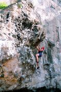 """unknown climber on """"make-a-way"""""""