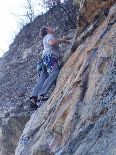 Rock Climbing Photo: Yellow Ridge