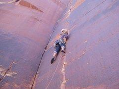 Rock Climbing Photo: Gorilla Crack butt shot.