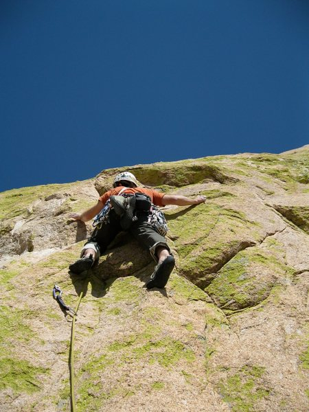 Joel Hunt on the last pitch of Unknown Left of Peacemaker