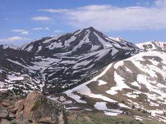 Rock Climbing Photo: Jacque Peak.