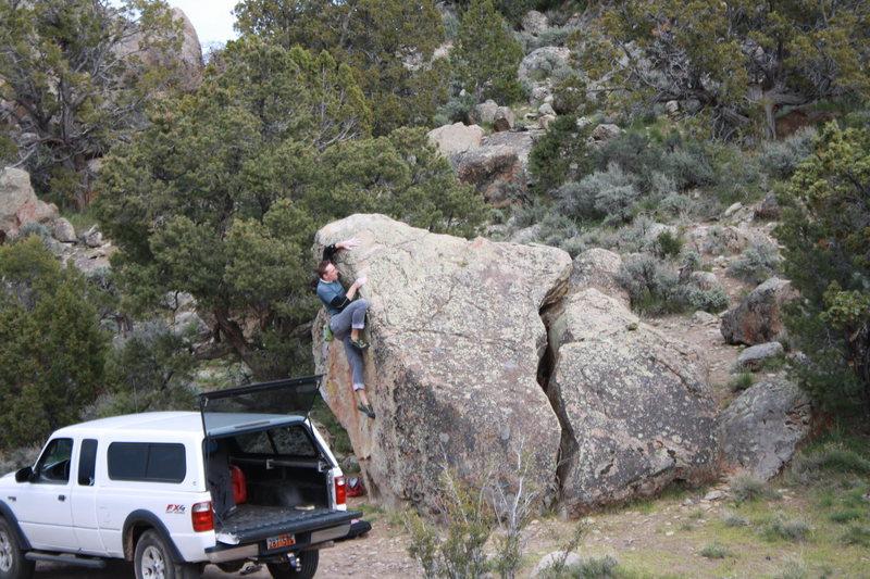 Rock Climbing Photo: Thad