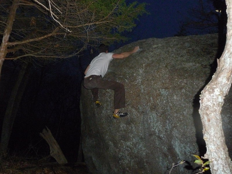 V1 project on the lonely boulder