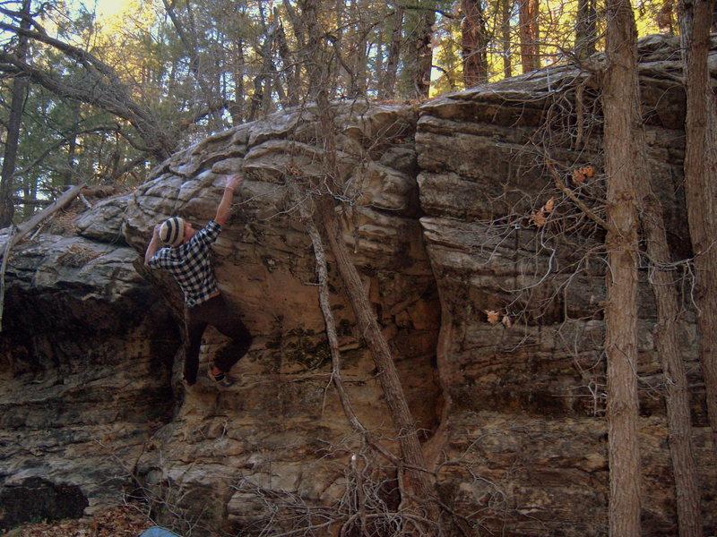Rock Climbing Photo: Five Minutes