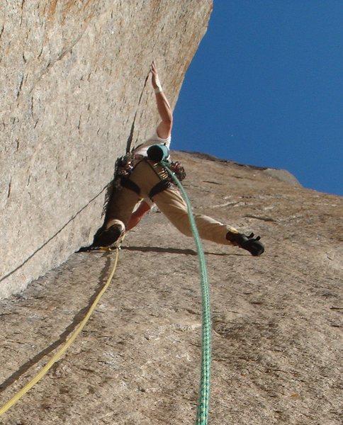 Rock Climbing Photo: Enduro Corner