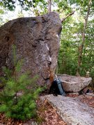Rock Climbing Photo: Another view of the Southeast Arete (V1) problem o...