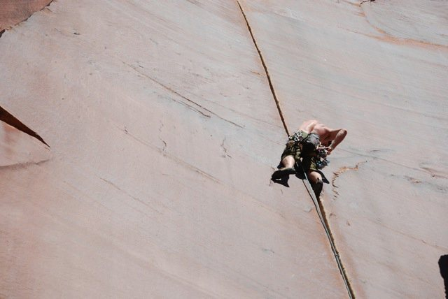 Rock Climbing Photo: Luxury Liner, Indian Creek