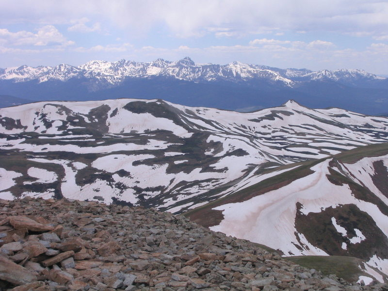 Holy Cross from Jacque Peak.