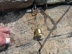 Rock Climbing Photo: KARMIC RELIEF: Ring and bell don't