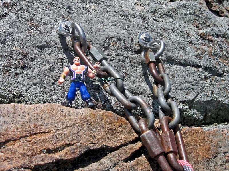 KARMIC RELIEF: Strong like bolts