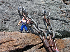 Rock Climbing Photo: KARMIC RELIEF: Strong like bolts