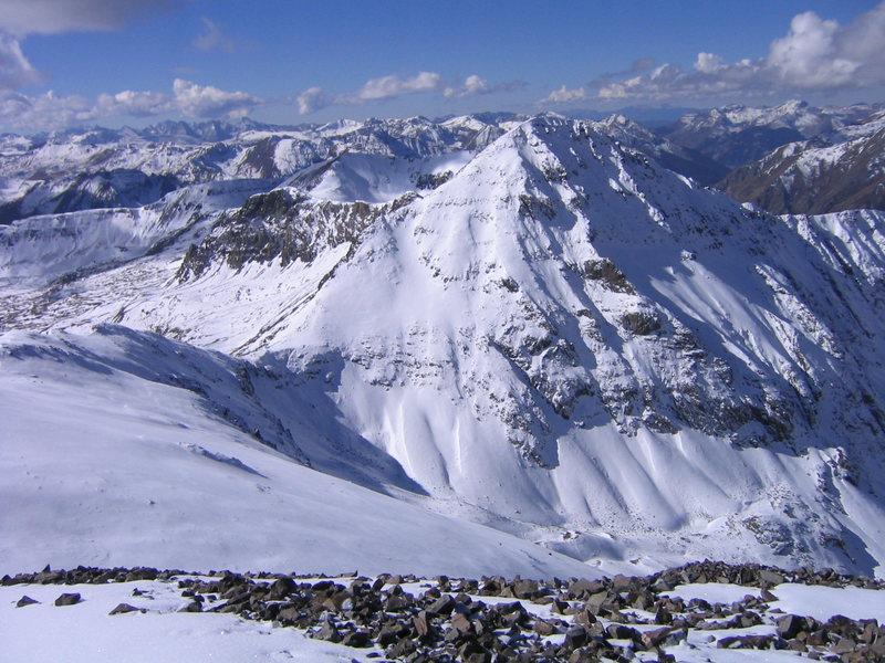 Jones Mountain near Handies Peak.