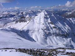 Rock Climbing Photo: Jones Mountain near Handies Peak.
