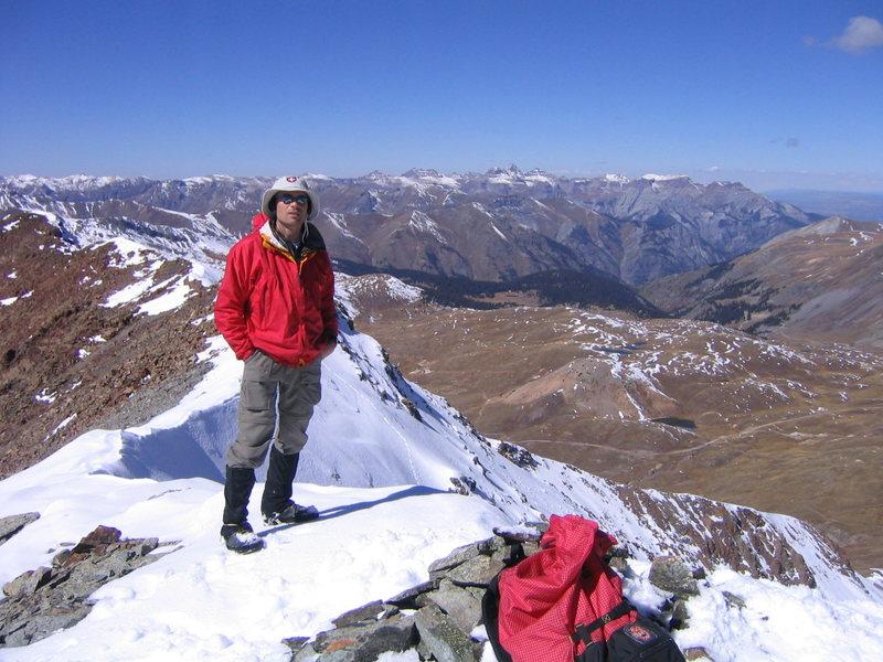 Rock Climbing Photo: On UN 13,722.