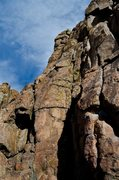 Rock Climbing Photo: Not sure which route this is