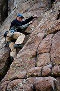 Rock Climbing Photo: lead 3