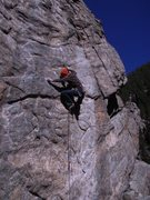 Rock Climbing Photo: Jay making quick work of Pete's Kitchen.