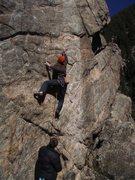 Rock Climbing Photo: Jay, scrambling some eggs in Pete's Kitchen.