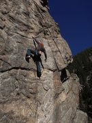 Rock Climbing Photo: Pete's Kitchen.