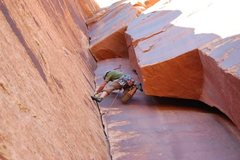 Rock Climbing Photo: thank god stem