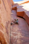 Rock Climbing Photo: cool route