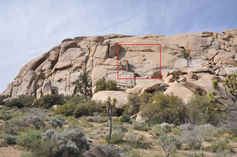 Rock Climbing Photo: Hidden Slab