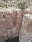 Rock Climbing Photo: Carpenter's Corner route