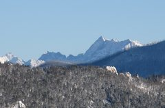 Rock Climbing Photo: mt cowen. the northeast arete is visible on the le...