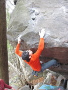 "Rock Climbing Photo: Remo, ""WHERE's THE HOLD!?!?!?"""