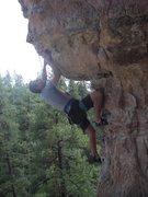 Rock Climbing Photo: The Pit - Mr. Slate