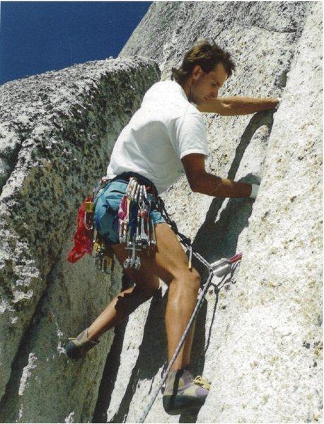 Rock Climbing Photo: old