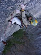 Rock Climbing Photo: Jeb Bruno headed to the space station Belay Photo ...