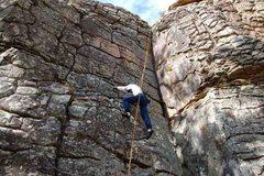 Rock Climbing Photo: Fractured Face