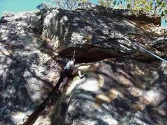 Rock Climbing Photo: Double Roof