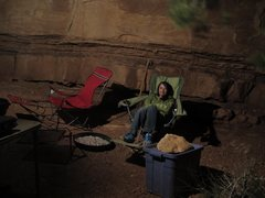 Rock Climbing Photo: Home Sweet Home at The Dollhouse campsite #2, whic...