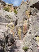 Rock Climbing Photo: Sour Cream in the center.