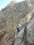 Rock Climbing Photo: Scrambling up Hunter Canyon in Saline Valley.  Apr...