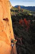 Rock Climbing Photo: Climber: Sean Stellick. Photo: Dancesatmoonrise.