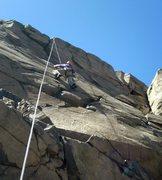 Rock Climbing Photo: Around the 5th bolt.