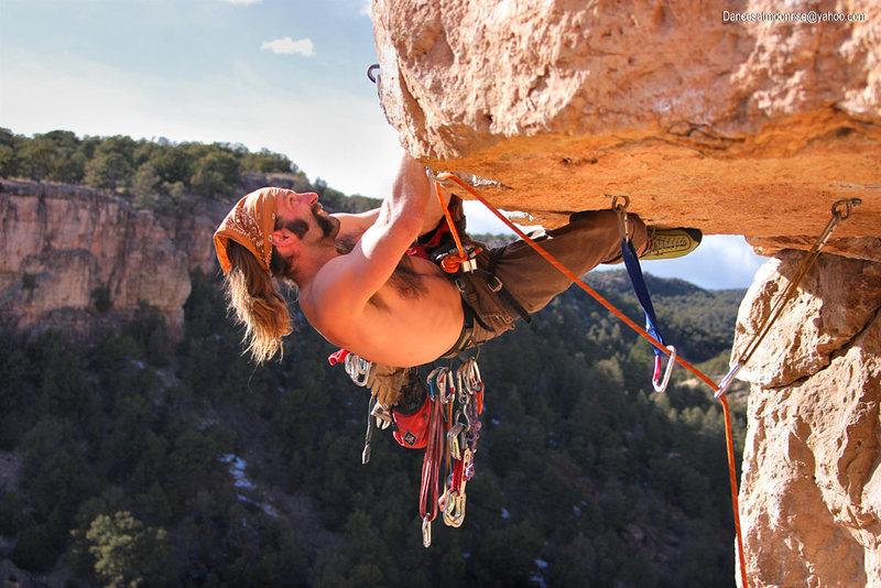 Rock Climbing Photo: Climber: Matt Bruton. Photo: Dancesatmoonrise.