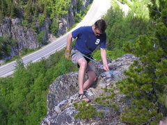Rock Climbing Photo: Klondike Hwy