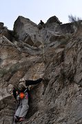 Rock Climbing Photo: Pitch two. Fun blocky climbing to a corner which d...