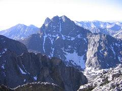 Rock Climbing Photo: Crestone Peak from Kit Carson