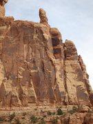 Rock Climbing Photo: Leading P2