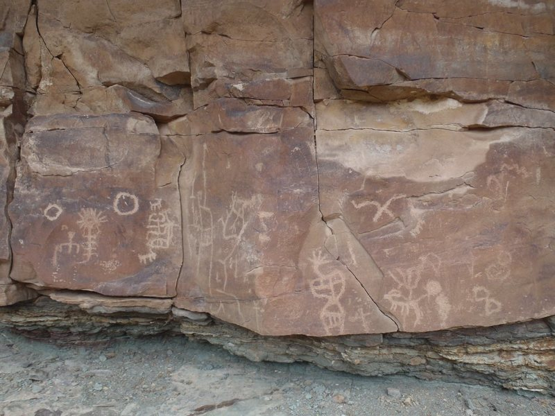 Rock Climbing Photo: Mushroom Rock Petroglyphs